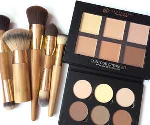 makeup, Brushes, and contour image
