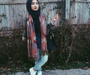 hijab and outfit image