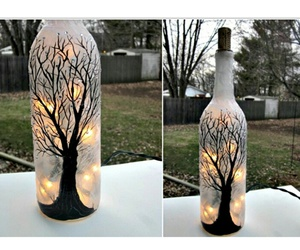 bottle, diy, and hand-made image