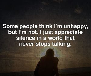 quotes, world, and silence image