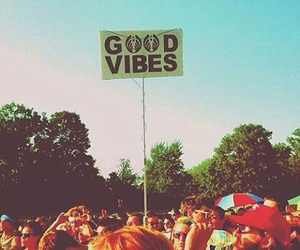 good vibes, peace, and summer image