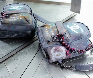 chanel, backpack, and bag image