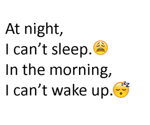 funny, morning, and night image