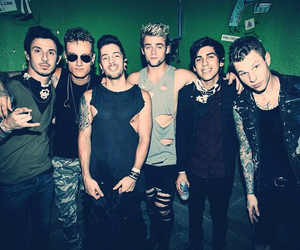 crown the empire, brandon hoover, and brent taddie image