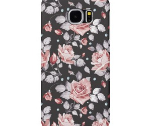 case, floral, and galaxy image