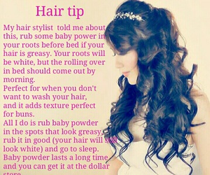beauty, fact, and hair image