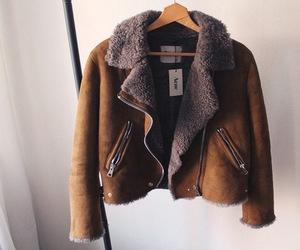 fashion, jacket, and acne image