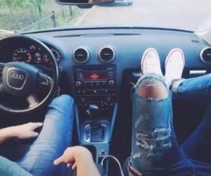 audi, cars, and couple image