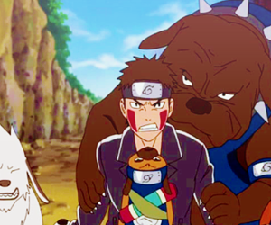 anime, dog, and dogs image