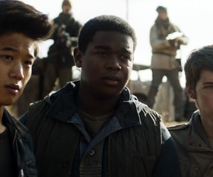 frypan, newt, and thomas sangster image