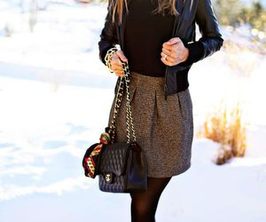 coat, fall fashion, and streetstyle image