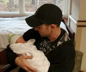 chris evans and baby image