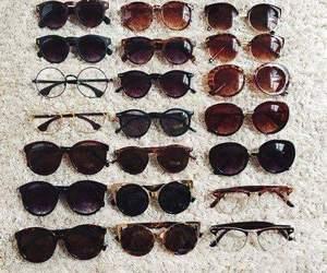 fashion, glasses, and moda image