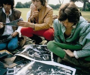 bands, music, and the rolling stones image