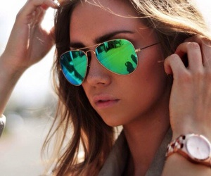 sunglasses and green image