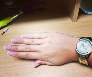 french gel nails image