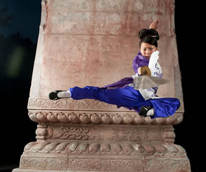 jump and wushu image