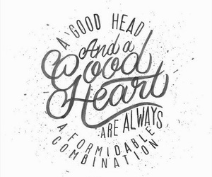 quote, heart, and always image