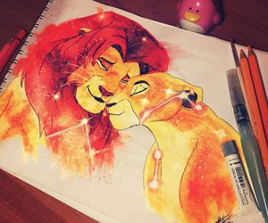 amor, I Love You, and simba image