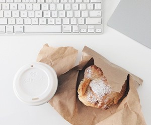 coffee, food, and white image