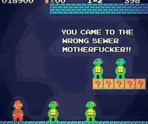 funny, game, and mario image