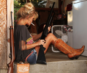 country, Cowgirl, and woman image