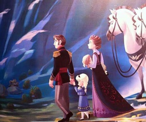 disney princess, frozen, and royal family image