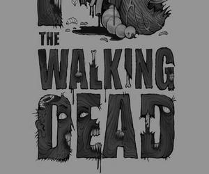the walking dead, twd, and zombies image