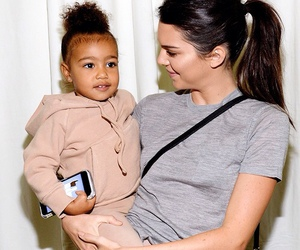 kendall jenner, north west, and Kendall image