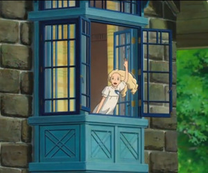 studio ghibli, omoide no marnie, and gif image