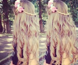 cabello, peinados, and peinados lindos image