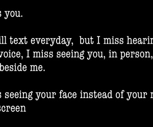 i miss you, long distance, and miss you image