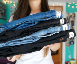 jeans, fashion, and tumblr quality image