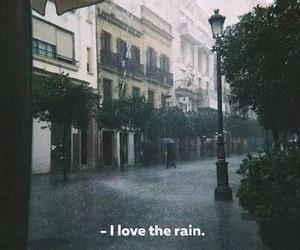 rain, love, and city image