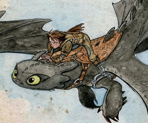 toothless, how to train your dragon, and dreamworks image