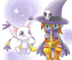 digimon and gatomon image