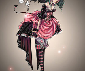 art, lolita, and pretty image
