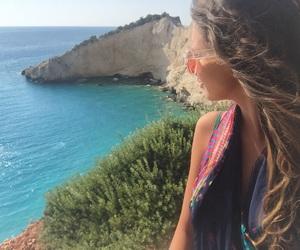 beautiful, sea, and porto katsiki image