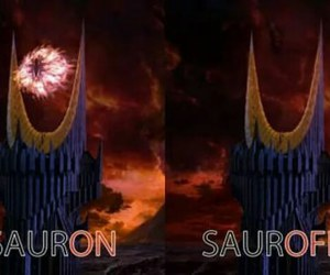 funny, lord of the rings, and sauron image
