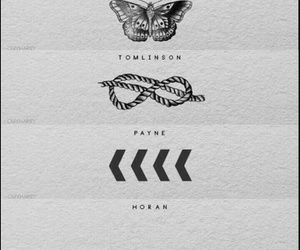 tattoo, one direction, and liam payne image