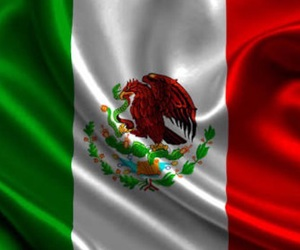 mexico and flag image