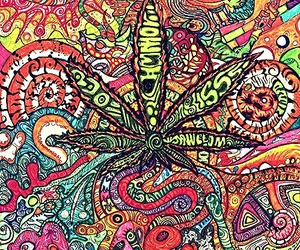 weed, marijuana, and colors image