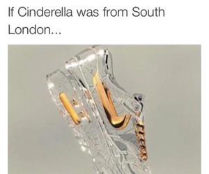 funny, nike, and cinderella image