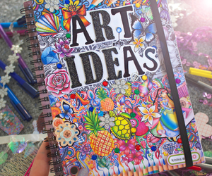 art, ideas, and colorful image