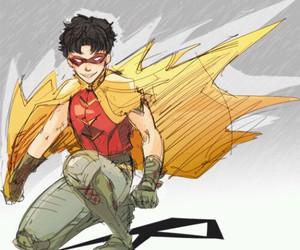batman, DC, and r image