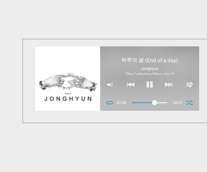 headers, Jonghyun, and SHINee image