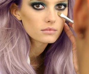 hair, model, and makeup image