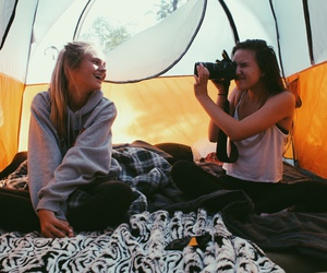 adventure, camping, and photography image