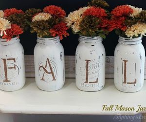 fall, flowers, and decor image