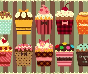cupcake, cute, and art image